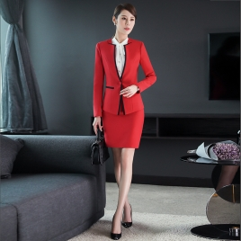 fashion office business women pant suits  work uniform