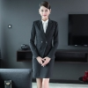 2018  new design wait staff office business  pant suits  sales uniform waitress suits