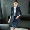 Red2018  new design wait staff office business  pant suits  sales uniform waitress suits
