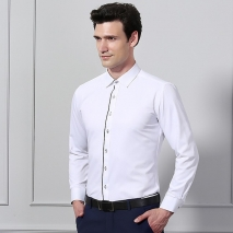 high quality business men shirt uniform  twill office work shirt