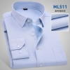 color 7high quality business men formal office work shirt