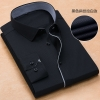 color 10high quality business men formal office work shirt