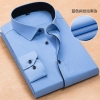 color 11high quality business men formal office work shirt