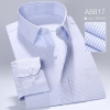 color 17high quality business men formal office work shirt