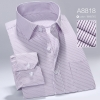 color 18high quality business men formal office work shirt