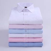 high quality business men formal office work shirt