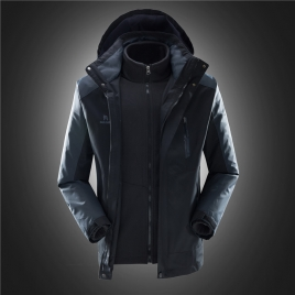 fashion good quality Interchange Jacket outdoor coat