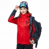 women redfashion candy color Interchange Jacket outdoor coat