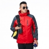 men redfashion candy color Interchange Jacket outdoor coat