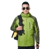 men greenfashion candy color Interchange Jacket outdoor coat