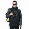 men blackfashion men/men windbreaker Interchange Jacket outdoor coat