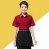 waitress redrestaurants coffee bar waiter waitress uniform shirt + apron