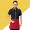 waiter blackrestaurants coffee bar waiter waitress uniform shirt + apron