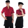 summer design resort hotel waiter shirt + apron
