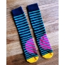 2018 cotton girl print woman cotton knitting men socks wholesale