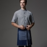 short blue  denim apron