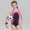 Navyhigh quanity swim training  girl swimwear