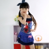 Navyhigh quality mickey mouse  swimsuit for girl