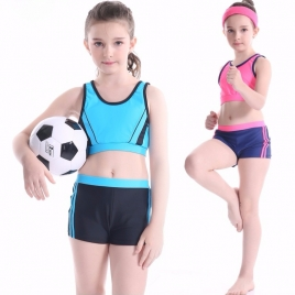 fashion two pieces teenager girl swimwear little girl swimwear (25 designs)