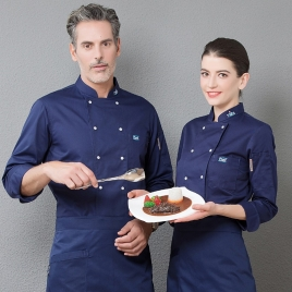 Europe fashion restaurant  chef jacket baker uniform