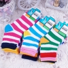 stripe rainbow cotton sock for children