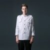 color 2young handsome restaurant  chef jacket baker uniform coat