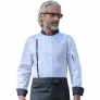 gold collar Asian style Chef short sleeve coat