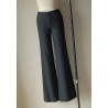 BlackEurope Russia style wide leg women's flare pant,bell-bottom trousers
