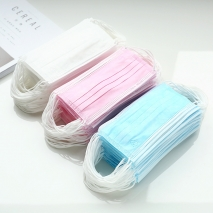 China low price disposable  mask face mask wholesale 50 pcs