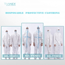 high quality Non-woven fabric civil medical use  SMS disposable  protective clothing