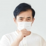 3-layers Non-woven earloop  face mask disposable mask  Covid-19
