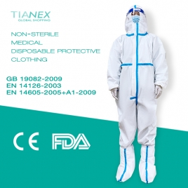 high quality medical use disposable  protective clothing  protective suit CE FDA certificated