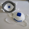 non-medical use CE certificated by CCQS FFP3 disposable mask dust respirator with valve