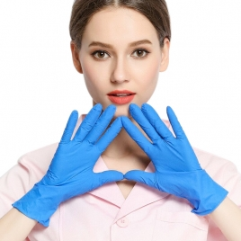 wholesale gloves disposable nitrile gloves factory source