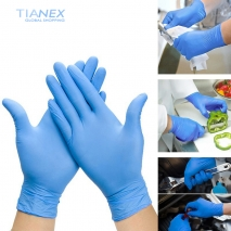 low price gloves disposable nitrile gloves factory source wholesale OEM gloves