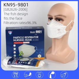 6-ply non-medical KN95 mask fish style disposable protective mask