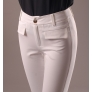 regular fake pockets women pencil pant 7/10 length