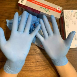 Vietnam vgloves non-sterile nitrile medical disposable Examination gloves CE FDA certificated discount