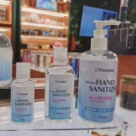fourplus wash free instant hand sanitizer OEM for you  100ml