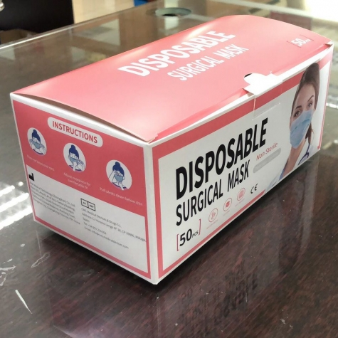 medical disposable ce ceritficated mask surgical mask EN14683 Type IIR CE certificated