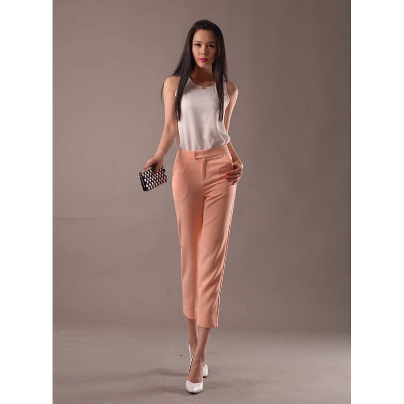 Casual Loose Ankle Length Women Capris Pant - TiaNex