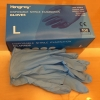 hongray medical nitrile disposable  gloves Examination gloves Europe  english package ready stock