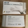 HSK vinyl PVC disposable  gloves medical exam glove EN455