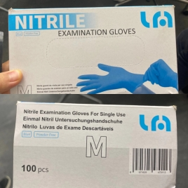lyncmed   nitrile non-medical disposable  single use gloves  preorder Europe