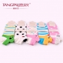 cute cartoon animal face girl socks