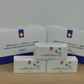 Sars-cov-2 COVID-19 (IgG/IgM) Antibody Fast Detection Kit (Colloidal Gold) China Factory wholesale