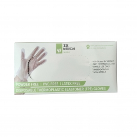 high quality  plastic glove TPE glove disposable gloves