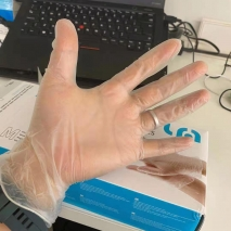 lyncmed  non-medical disposable  pvc/vinyl gloves  production 6.2USD/100 PCs FOB China