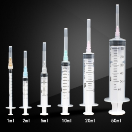 Europe America export disposable medical sterile syringe needle FDA510k CE