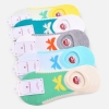 comfortable Korea design women low cut socks